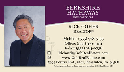 Berkshire Hathaway Home Services Business Cards 1000 Business Cards 6999 DESIGNED AND